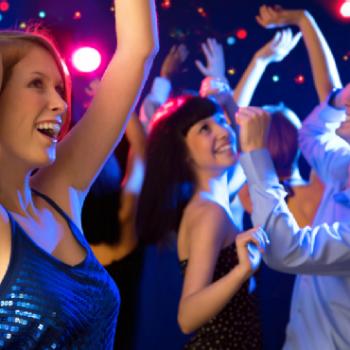 Party mit Schwarz auf Weiss - Liveband, der Partyband